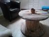 Kabeltrommel-Couchtisch-Wohnzimmer-braun