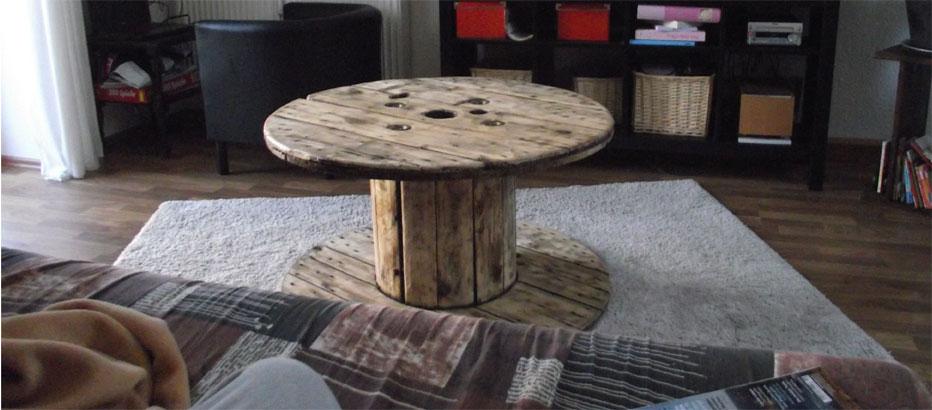 Kabeltrommel Holz Tisch Bauen ~ Kabeltrommel Tisch Anfrage Impressum